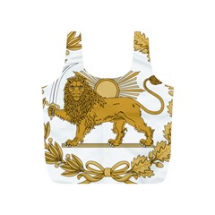 Lion & Sun Emblem Of Persia (iran) Full Print Recycle Bags (s)  by abbeyz71