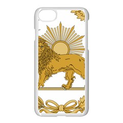 Lion & Sun Emblem Of Persia (iran) Apple Iphone 7 Seamless Case (white) by abbeyz71