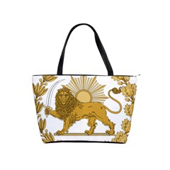 Lion & Sun Emblem Of Persia (iran) Shoulder Handbags by abbeyz71