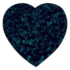 Leaf Pattern Jigsaw Puzzle (heart) by berwies