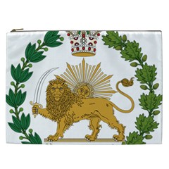 Imperial Coat Of Arms Of Persia (iran), 1907 1925 Cosmetic Bag (xxl)  by abbeyz71