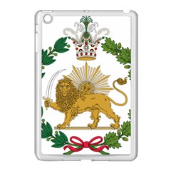 Imperial Coat Of Arms Of Persia (iran), 1907 1925 Apple Ipad Mini Case (white) by abbeyz71