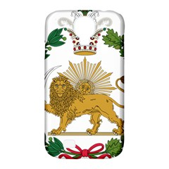 Imperial Coat Of Arms Of Persia (iran), 1907 1925 Samsung Galaxy S4 Classic Hardshell Case (pc+silicone) by abbeyz71