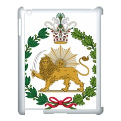 Imperial Coat Of Arms Of Persia (iran), 1907 1925 Apple Ipad 3/4 Case (white) by abbeyz71