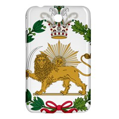 Imperial Coat Of Arms Of Persia (iran), 1907 1925 Samsung Galaxy Tab 3 (7 ) P3200 Hardshell Case  by abbeyz71