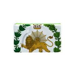 Imperial Coat Of Arms Of Persia (iran), 1907-1925 Cosmetic Bag (xs) by abbeyz71