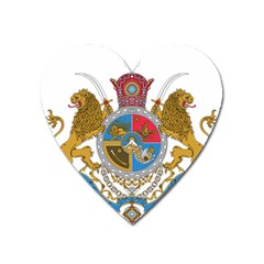 Sovereign Coat Of Arms Of Iran (order Of Pahlavi), 1932-1979 Heart Magnet by abbeyz71
