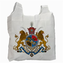 Sovereign Coat Of Arms Of Iran (order Of Pahlavi), 1932-1979 Recycle Bag (two Side)  by abbeyz71