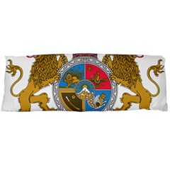 Sovereign Coat Of Arms Of Iran (order Of Pahlavi), 1932 1979 Body Pillow Case Dakimakura (two Sides) by abbeyz71