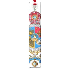 Sovereign Coat Of Arms Of Iran (order Of Pahlavi), 1932 1979 Large Book Marks by abbeyz71