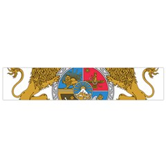 Sovereign Coat Of Arms Of Iran (order Of Pahlavi), 1932 1979 Flano Scarf (small) by abbeyz71