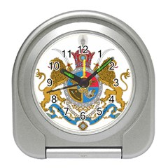 Sovereign Coat Of Arms Of Iran (order Of Pahlavi), 1932 1979 Travel Alarm Clocks by abbeyz71