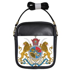 Sovereign Coat Of Arms Of Iran (order Of Pahlavi), 1932-1979 Girls Sling Bags by abbeyz71