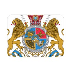 Sovereign Coat Of Arms Of Iran (order Of Pahlavi), 1932 1979 Double Sided Flano Blanket (mini)  by abbeyz71