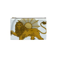 National Emblem Of Iran, Provisional Government Of Iran, 1979 1980 Cosmetic Bag (small)  by abbeyz71