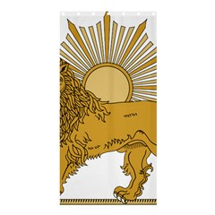 National Emblem Of Iran, Provisional Government Of Iran, 1979-1980 Shower Curtain 36  X 72  (stall)  by abbeyz71