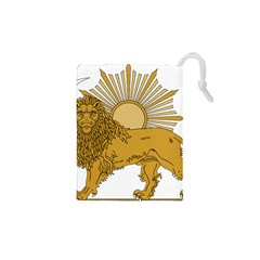 National Emblem Of Iran, Provisional Government Of Iran, 1979 1980 Drawstring Pouches (xs)  by abbeyz71