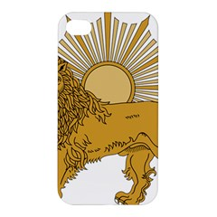 National Emblem Of Iran, Provisional Government Of Iran, 1979 1980 Apple Iphone 4/4s Premium Hardshell Case by abbeyz71