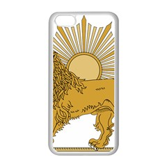 National Emblem Of Iran, Provisional Government Of Iran, 1979 1980 Apple Iphone 5c Seamless Case (white) by abbeyz71