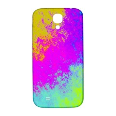 Grunge Radial Gradients Red Yellow Pink Cyan Green Samsung Galaxy S4 I9500/i9505  Hardshell Back Case by EDDArt