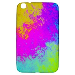 Grunge Radial Gradients Red Yellow Pink Cyan Green Samsung Galaxy Tab 3 (8 ) T3100 Hardshell Case  by EDDArt