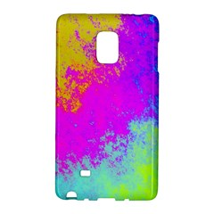 Grunge Radial Gradients Red Yellow Pink Cyan Green Galaxy Note Edge by EDDArt