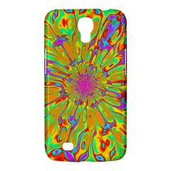 Magic Ripples Flower Power Mandala Neon Colored Samsung Galaxy Mega 6 3  I9200 Hardshell Case by EDDArt