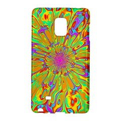 Magic Ripples Flower Power Mandala Neon Colored Galaxy Note Edge by EDDArt