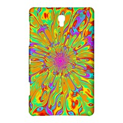 Magic Ripples Flower Power Mandala Neon Colored Samsung Galaxy Tab S (8 4 ) Hardshell Case  by EDDArt