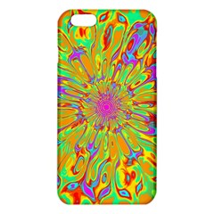 Magic Ripples Flower Power Mandala Neon Colored Iphone 6 Plus/6s Plus Tpu Case by EDDArt
