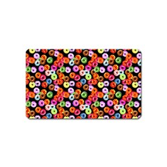 Colorful Yummy Donuts Pattern Magnet (name Card) by EDDArt
