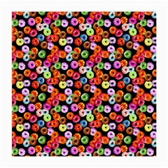 Colorful Yummy Donuts Pattern Medium Glasses Cloth