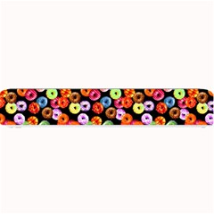 Colorful Yummy Donuts Pattern Small Bar Mats by EDDArt