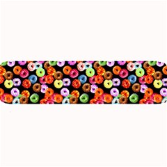 Colorful Yummy Donuts Pattern Large Bar Mats by EDDArt