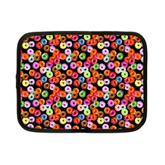 Colorful Yummy Donuts Pattern Netbook Case (small)  by EDDArt