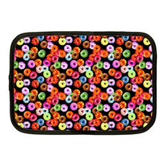 Colorful Yummy Donuts Pattern Netbook Case (medium)