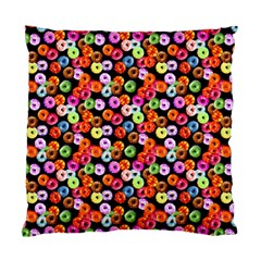 Colorful Yummy Donuts Pattern Standard Cushion Case (two Sides)