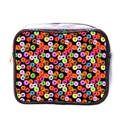 Colorful Yummy Donuts Pattern Mini Toiletries Bags by EDDArt