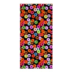Colorful Yummy Donuts Pattern Shower Curtain 36  X 72  (stall)