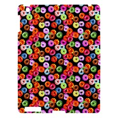 Colorful Yummy Donuts Pattern Apple Ipad 3/4 Hardshell Case by EDDArt