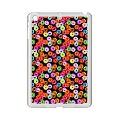 Colorful Yummy Donuts Pattern Ipad Mini 2 Enamel Coated Cases by EDDArt