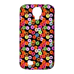 Colorful Yummy Donuts Pattern Samsung Galaxy S4 Classic Hardshell Case (pc+silicone) by EDDArt