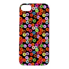 Colorful Yummy Donuts Pattern Apple Iphone 5s/ Se Hardshell Case by EDDArt