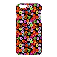 Colorful Yummy Donuts Pattern Apple Iphone 6 Plus/6s Plus Hardshell Case by EDDArt