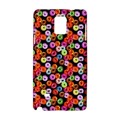Colorful Yummy Donuts Pattern Samsung Galaxy Note 4 Hardshell Case