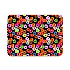 Colorful Yummy Donuts Pattern Double Sided Flano Blanket (mini)