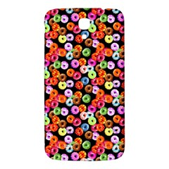 Colorful Yummy Donuts Pattern Samsung Galaxy Mega I9200 Hardshell Back Case
