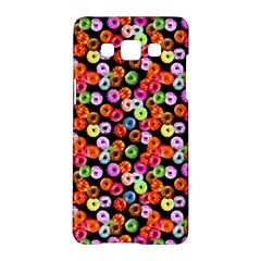 Colorful Yummy Donuts Pattern Samsung Galaxy A5 Hardshell Case  by EDDArt