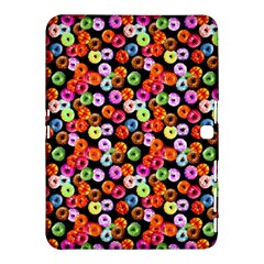 Colorful Yummy Donuts Pattern Samsung Galaxy Tab 4 (10 1 ) Hardshell Case  by EDDArt