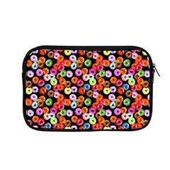 Colorful Yummy Donuts Pattern Apple Macbook Pro 13  Zipper Case by EDDArt